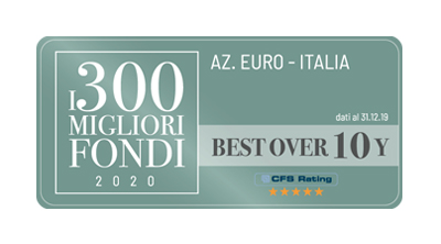 Fondersel PMI - Best Fund 2020 Over 10 Years Azionari Euro Italia