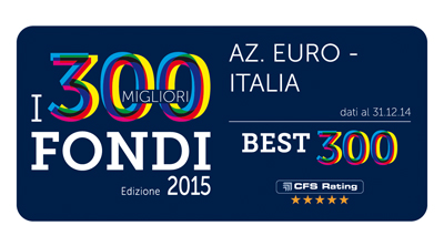 Premio Best Fund di CFS Rating 2015 - Azionari Euro - Italia