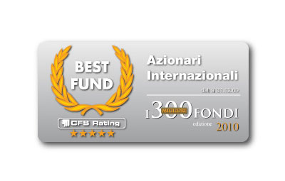 Premio Best Fund di CFS Rating 2010