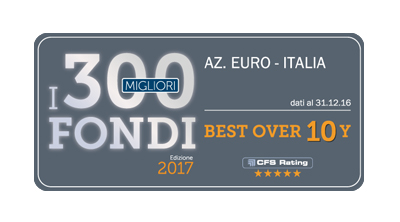 Best Fund Over 10 Years del 2017 selezionato da CFS Rating